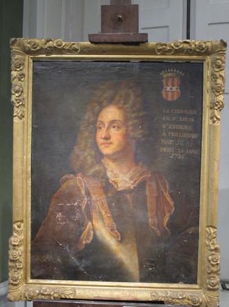 Une nouvelle version du portrait de François Henri d'Estavayer-Mollondin