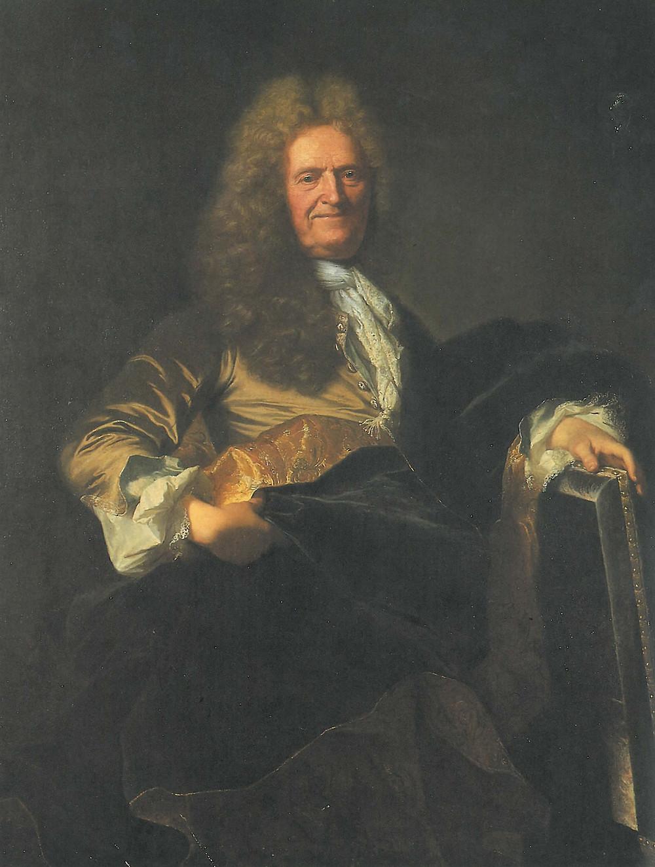 Hyacinthe Rigaud, Portrait d'homme âgé, vers 1710-1715, collection particulière