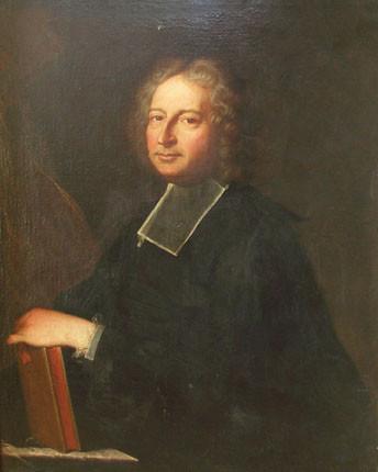 Hyacinthe Rigaud, Portrait d'Antoine Anselme, 1713, collection particulière
