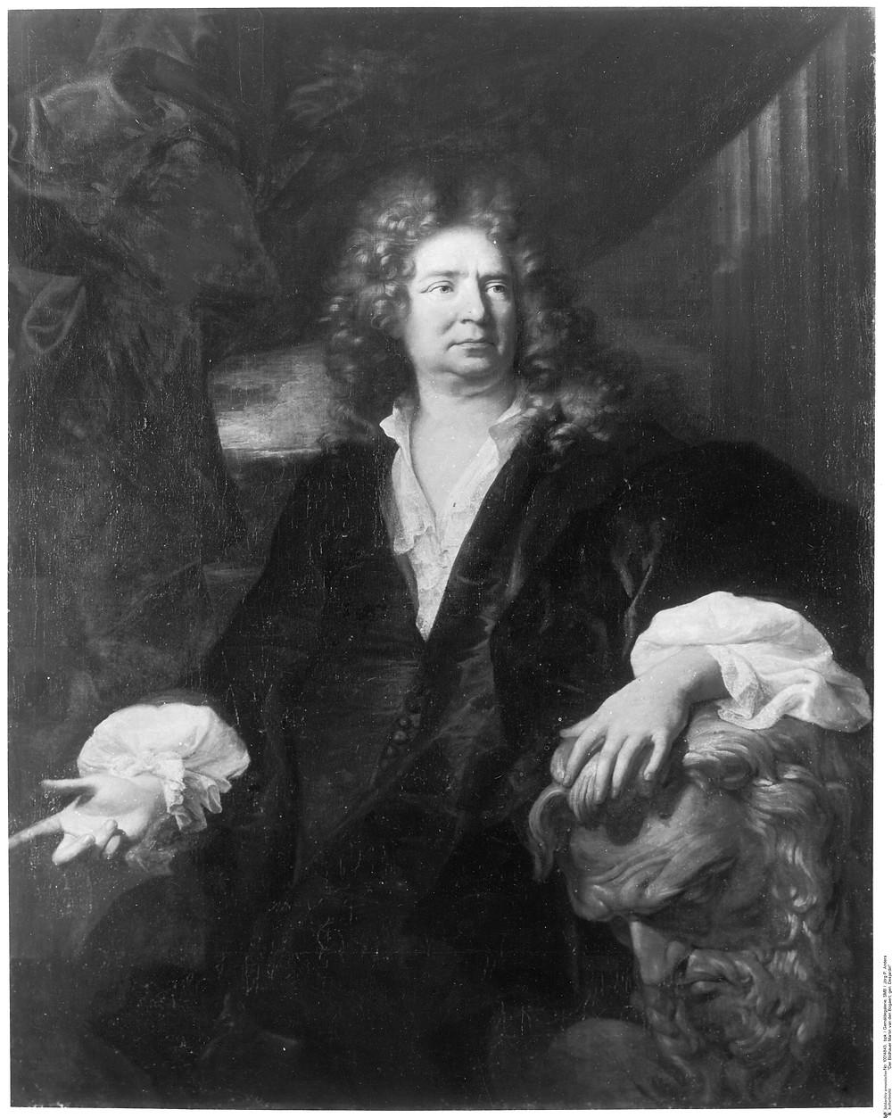 Hyacinthe Rigaud, Portrait du sculpteur Martin van den Bogaert dit Desjardins, 1692, Berlin, Staatliche Museen, Gemäldegalerie, inv. 460