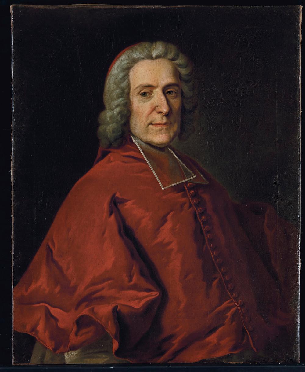 Hyacinthe Rigaud, Portrait de Pierre Paul Guérin, cardinal de Tencin, vers 1739, collection particulière