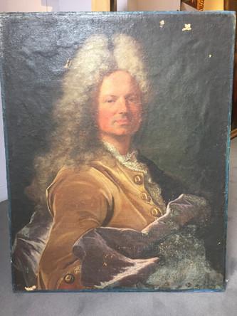 Le portrait retrouvé d'un armateur malouin