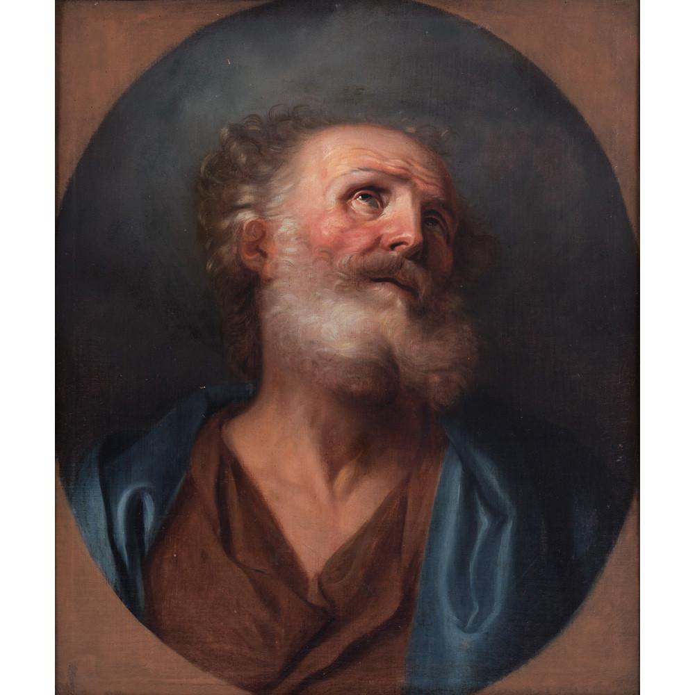 Anonyme du XVIIIe siècle d'après Hyacinthe Rigaud, Saint Pierre, collection particulière