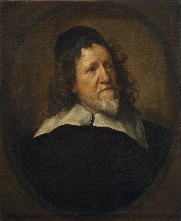 Van Dyck, Portrait d'Inigo Jones, 1632-1633, Saint-Pétersbourg, musée de l'Ermitage, inv. 541