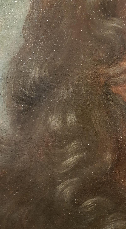 Atelier de Hyacinthe Rigaud, Portrait d'Emmanuel Théodose de La Tour d'Auvergne, duc d'Albret, vers 1705-1708 (?), détail, Paris, Galerie FC