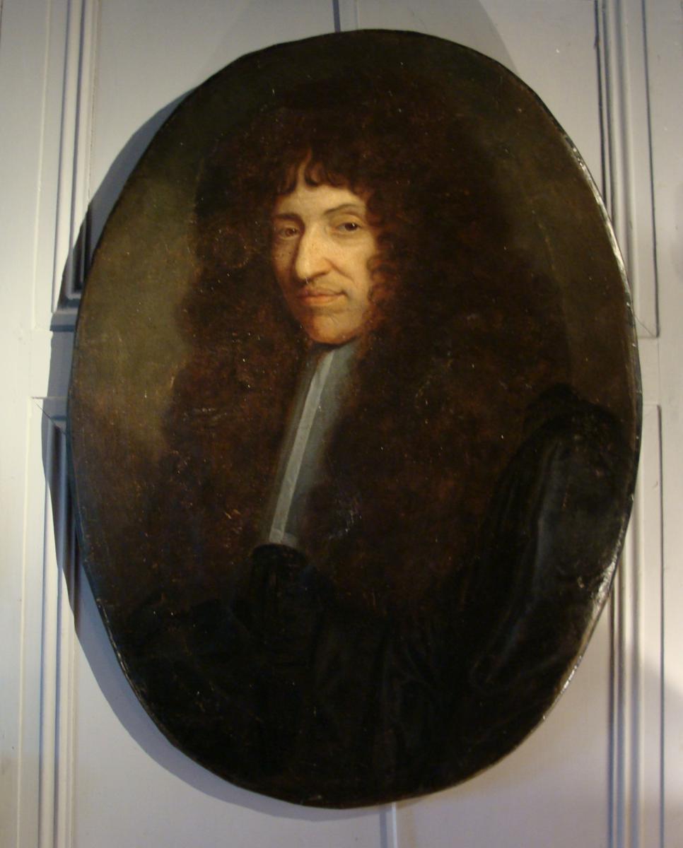 Hyacinthe Rigaud (et/ou atelier ?), Portrait de Guy Crescent Fagon, 1694 ou 1695, Fabienne Lamberger-Ponvianne, antiquaire, Villeurbanne
