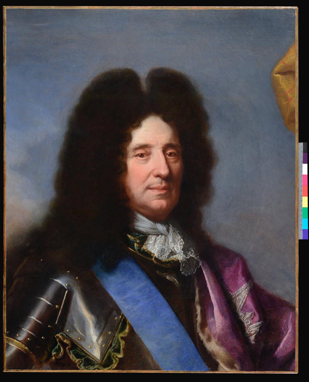Hyacinthe Rigaud, Portrait de François de Monestay, marquis de Chazeron, 1688, collection particulière