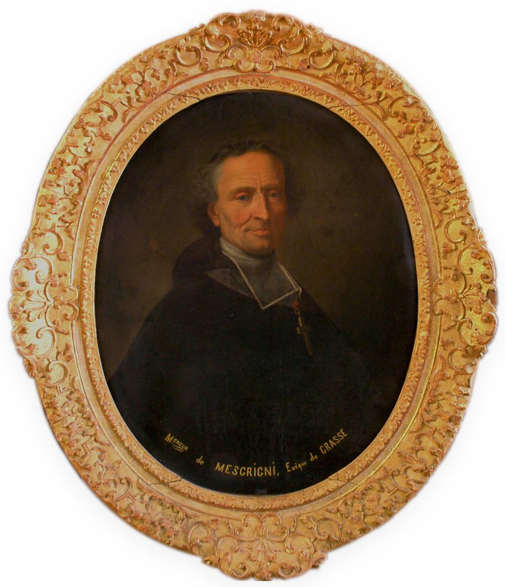 Bailleul (?), Portrait de Joseph Ignace Jean-Baptiste de Mesgrigny, 1712, Grasse, musée d'art et d'histoire de Provence, inv. 97641
