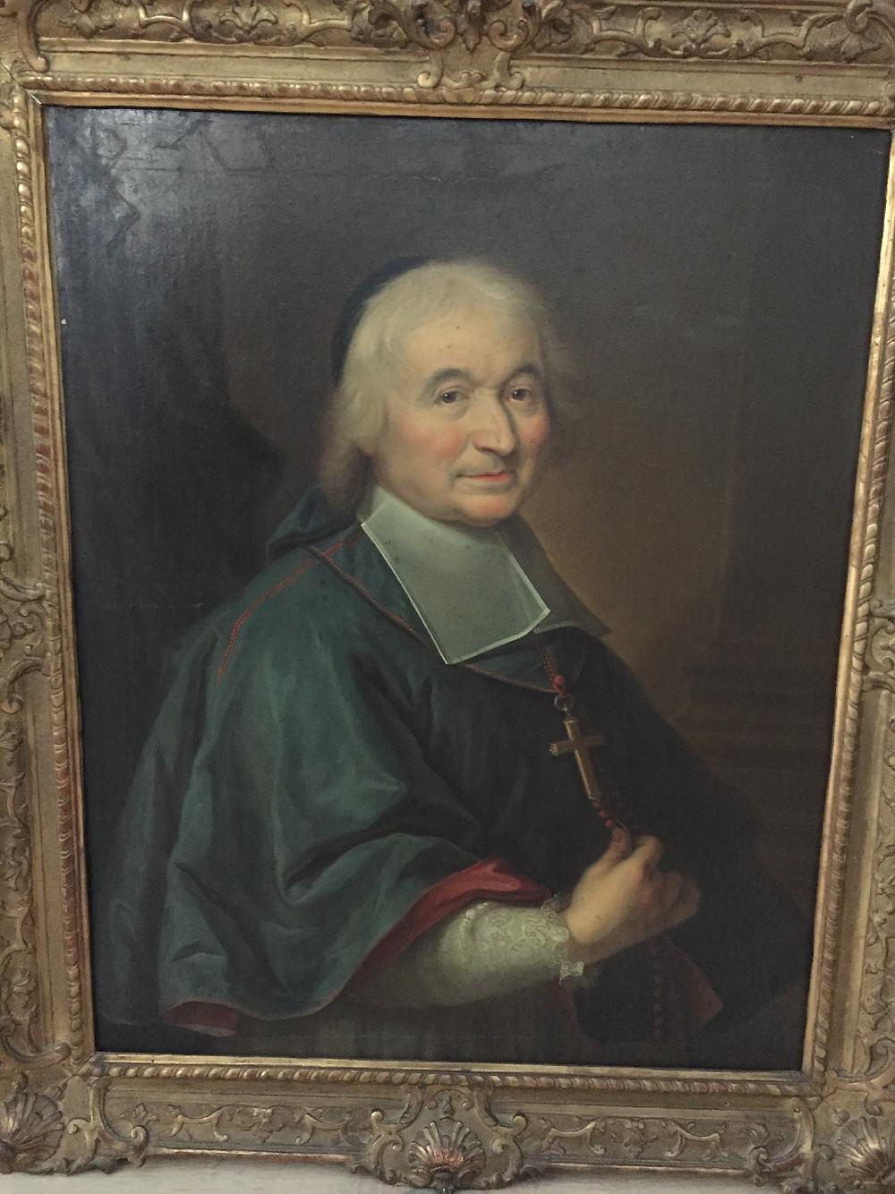 Anonyme, Portrait d'Antoine Sicault, vers 1711, collection particulière