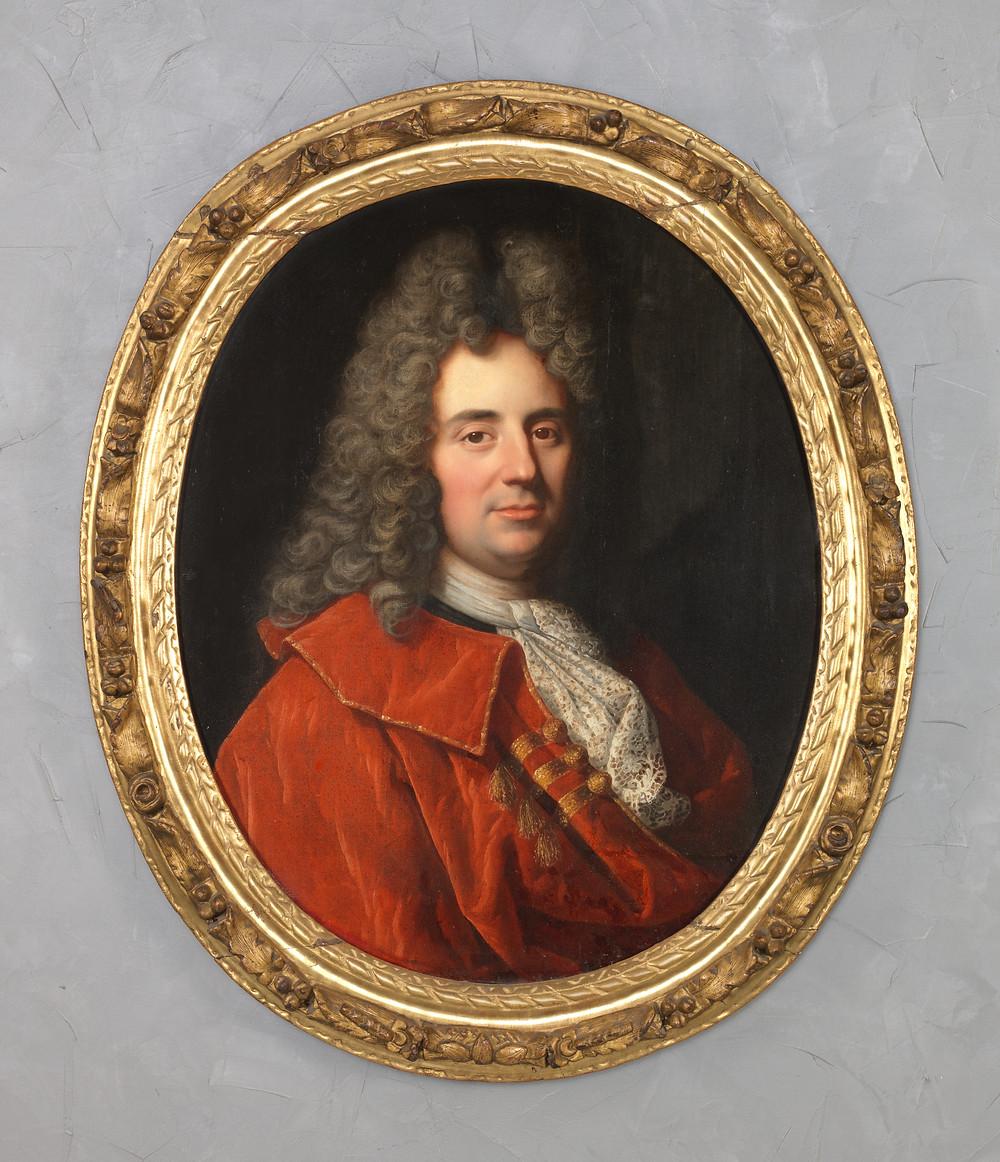 Gaspard Rigaud, Portrait d'un homme inconnu, 1691, collection particulière