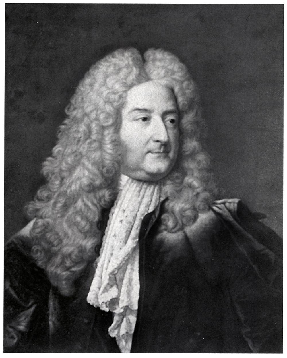 Anonyme d'après Hyacinthe Rigaud, Portrait de Michel Robert Le Peletier des Forts, après 1727, collection particulière