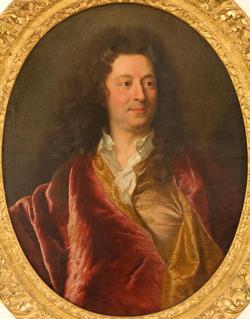 Hyacinthe Rigaud, Charles de La Fosse, 1682, collection particulière