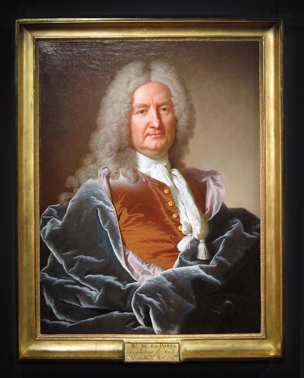 Hyacinthe Rigaud, Jean François de La Porte, 1733, Meslay, Hôtel de Ville