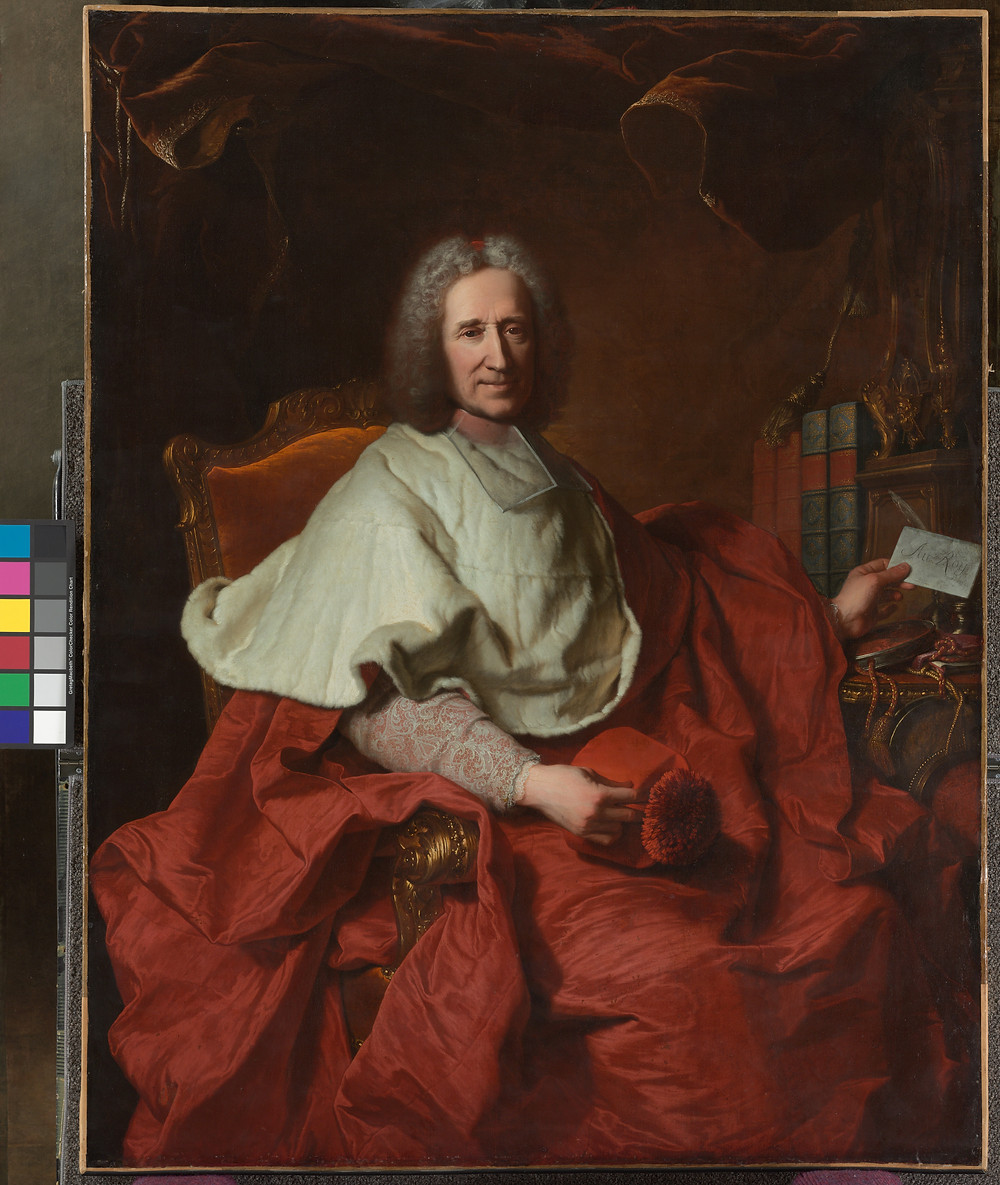 Hyacinthe Rigaud, Portrait du cardinal Guillaume Dubois, 1723, Cleveland, Museum of Art, inv. CMA. 67.17.