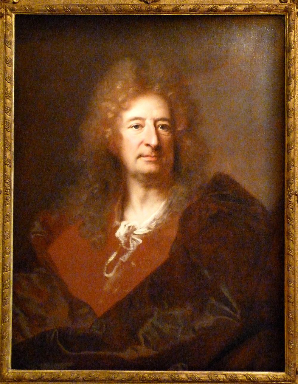 Hyacinthe Rigaud, Portrait présumé de Gabriel Blanchard, avant 1704, château de Parentignat, collection marquis de Lastic