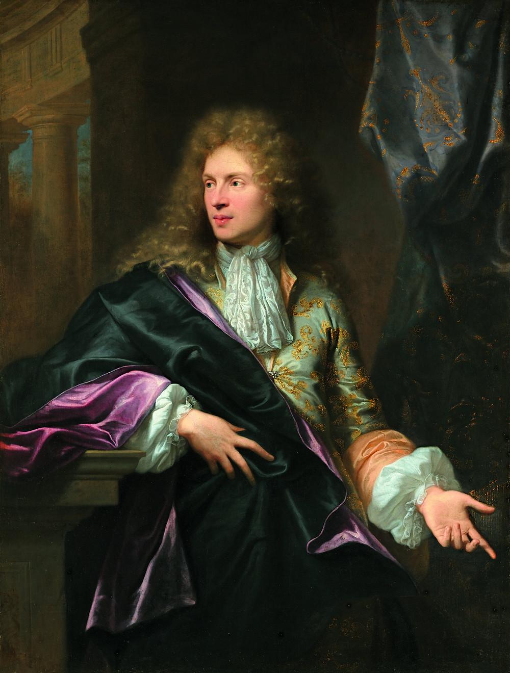 Hyacinthe Rigaud, Portrait de Pierre Vincent Bertin, 1685, collection particulière