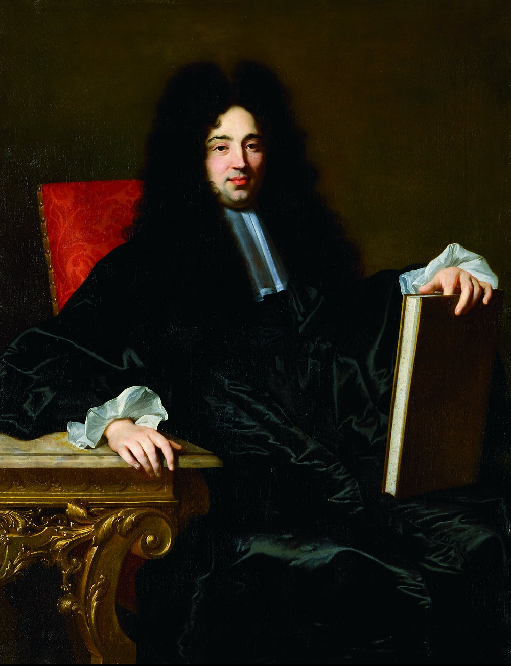 Hyacinthe Rigaud, Portrait de Jean Duret, 1696, Norfolk, Chrysler Museum of Art, inv. 77.409