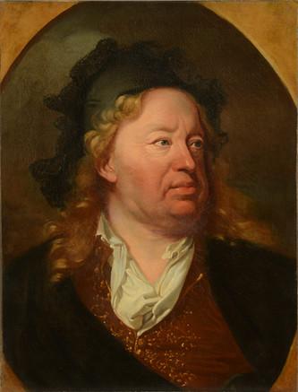 Everhard Jabach, Rigaud et Van Dyck