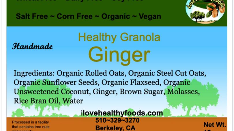 Ginger Granola