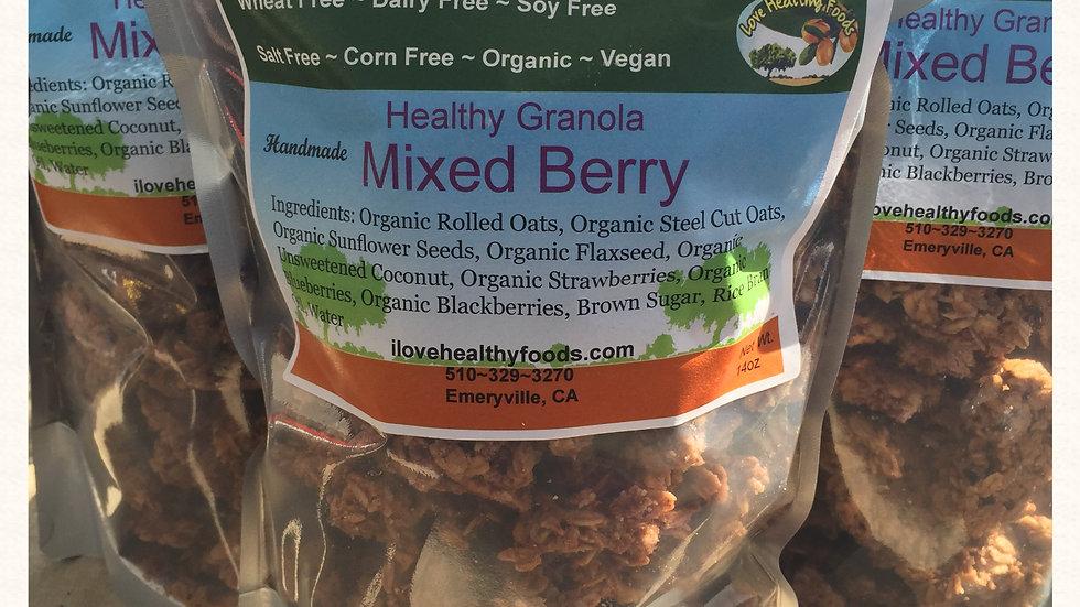 Mixed Berry Granola