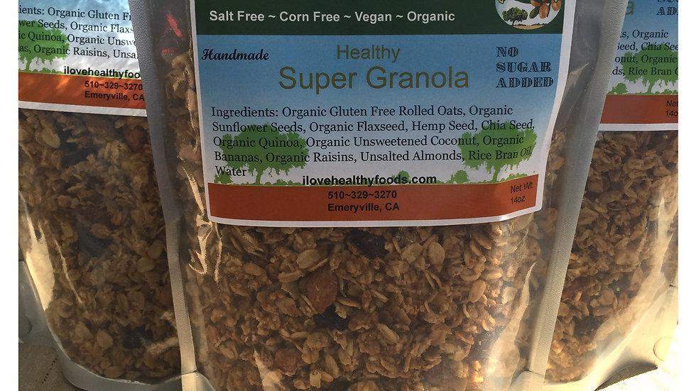 Super Granola (No Sugar Added)