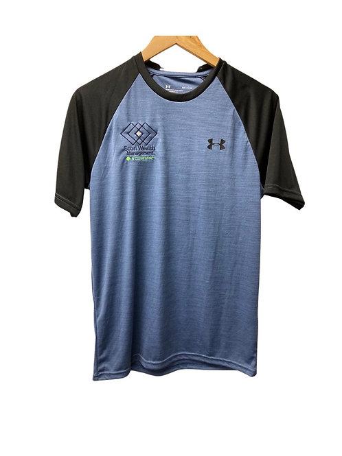 UA Blue/Black Baseball Shirt