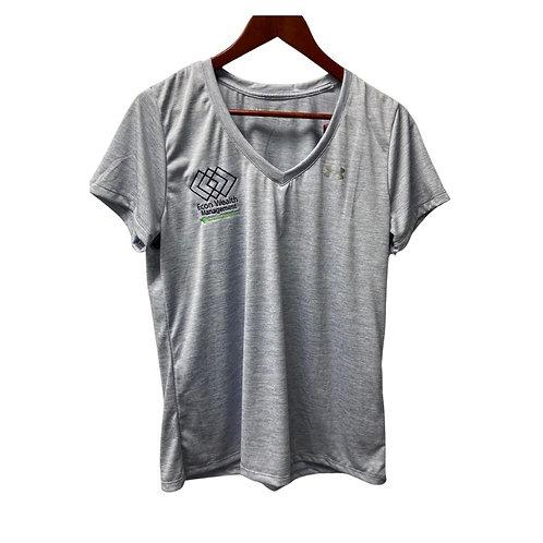 UA Ladies Light Blue V-Neck Shirt