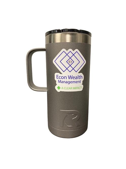 Grey Tumbler Mug