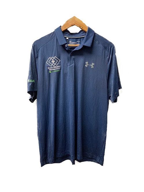 UA Navy Blue Polo (Textured)