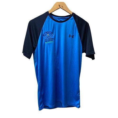 UA Blue/Blue Baseball Shirt