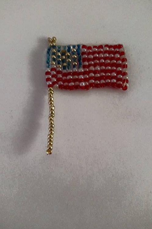 flags USA pin