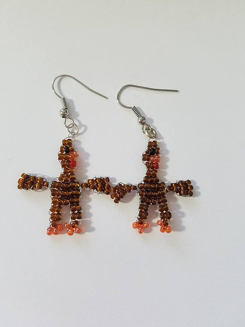 turkeys earrings