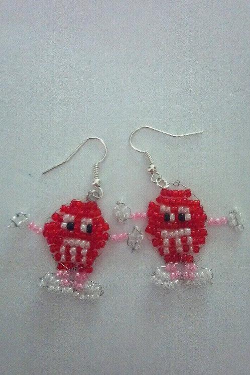 M&M earring