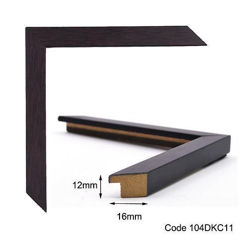 GM - Thin wood black wooden frame