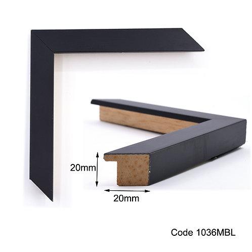 GM Black simple wooden frame