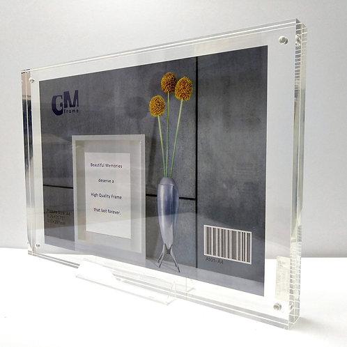 A101-A4 Acrylic block frame, A4 size