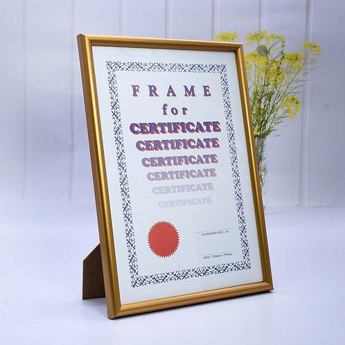 G20 - Wooden Frame Gold colour