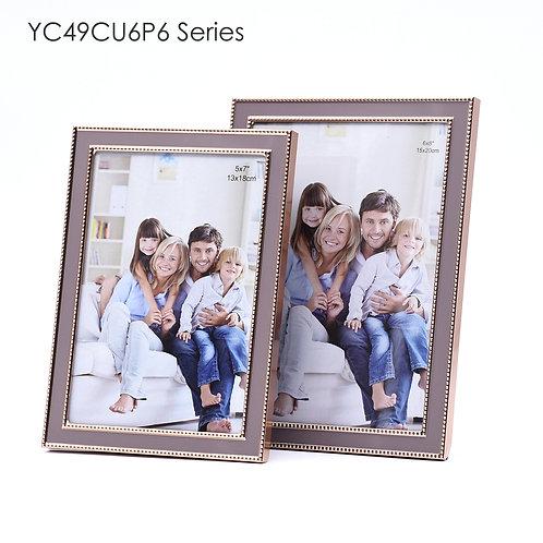YC49CU6P6 - Metal frame, Rose red