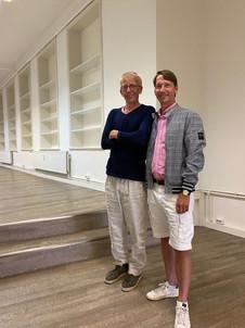 Thorsten und Paddy im Laden