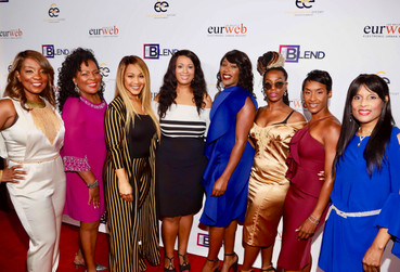 The Blend Red Carpet & show hosts