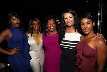 Ladies of the Blend at the Launch.JPG