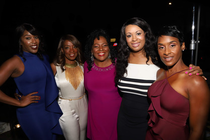 Ladies of the Blend at the Launch
