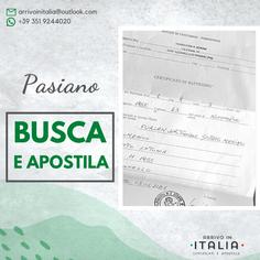 Certificato di Battesimo | Parrocchia di Pasiano