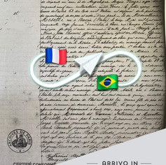 Copie intégrale du acte de Mariage | Paris  - França