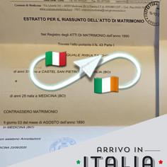 Estratto di Matrimonio | Comune di Medicina - Prov.Bologna