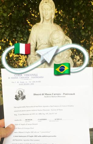 Certificato di Battesimo | Diocesi di Massa