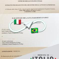 Estratto di Matrimonio | Comune di Borgo Veneto - Prov.Padova