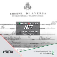 Estratto di Nascita | Comune di Aversa-Prov.Caserta