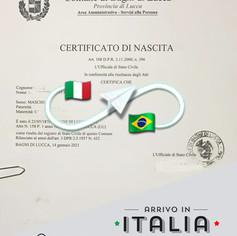 Estratto di Nascita + Matrimonio | Comune di Bagni di Lucca - Prov.Lucca