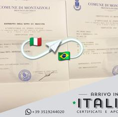 Estratto di Nascita a Matrimonio | Comune di Montazzoli-Prov.Chieti